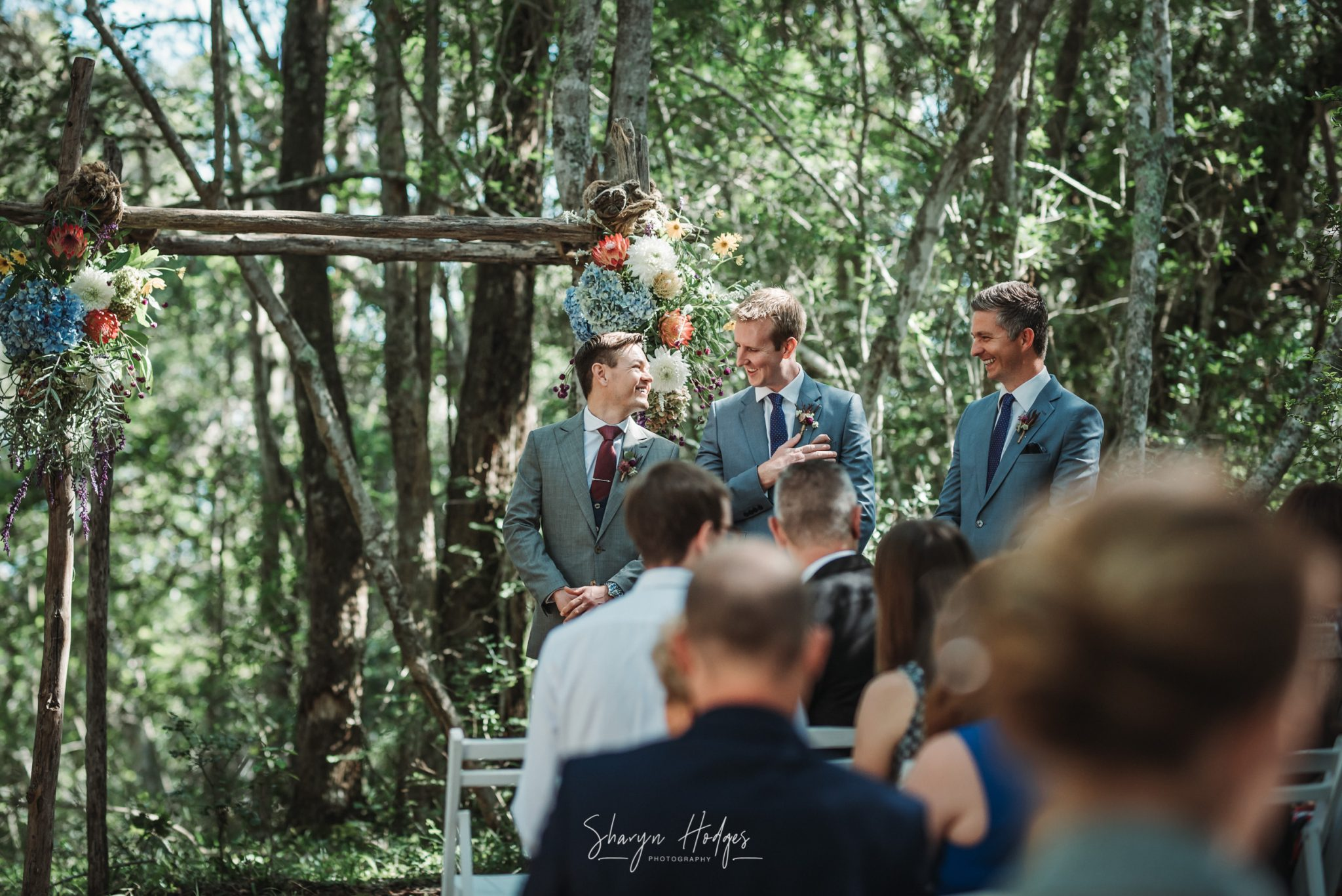 Annarie & Hendrik's garden route wedding took place at the magnificent luxury Forest Hall Estate in The Crags.