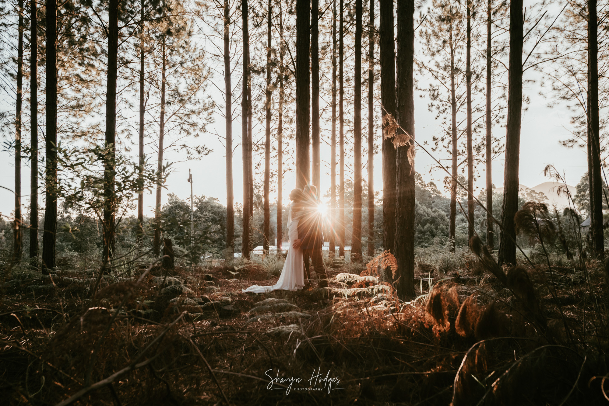 Annie & Reinhardt's wedding took place on the pristine Nature's Valley Beach and the reception at Kay & Monty Vineyards.