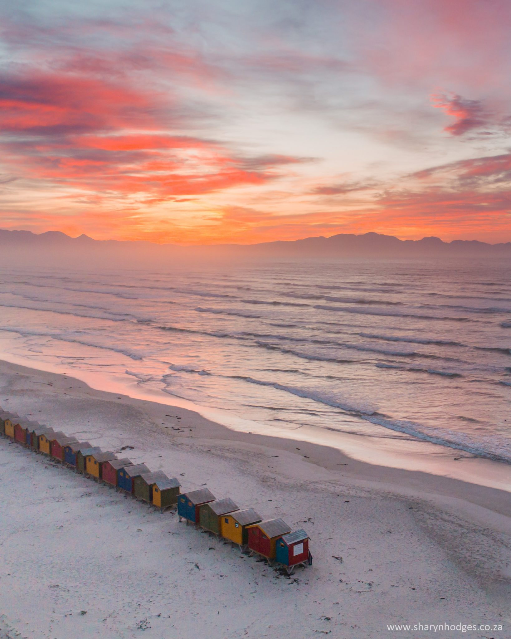Muizenberg Sunrises by Sharyn Hodges