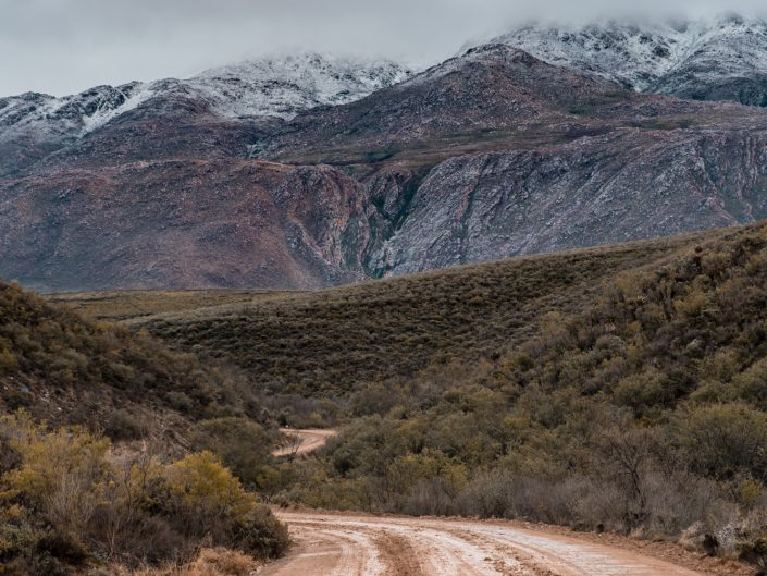 snow, garden route photographer, swartberg pass, mountain pass, sharyn hodges, plettenberg bay photos, knysna photographer