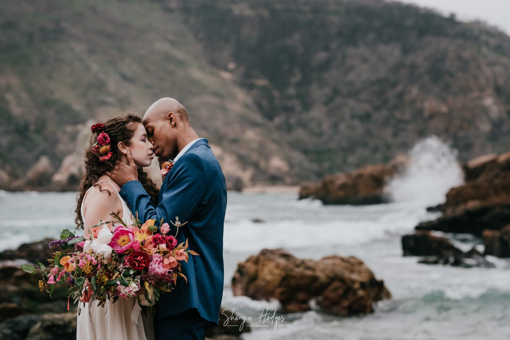 Sharyn Hodges, garden route wedding photographer, Knysna wedding, the Knysna heads, wedding venue, inter racial wedding, Plettenberg bay