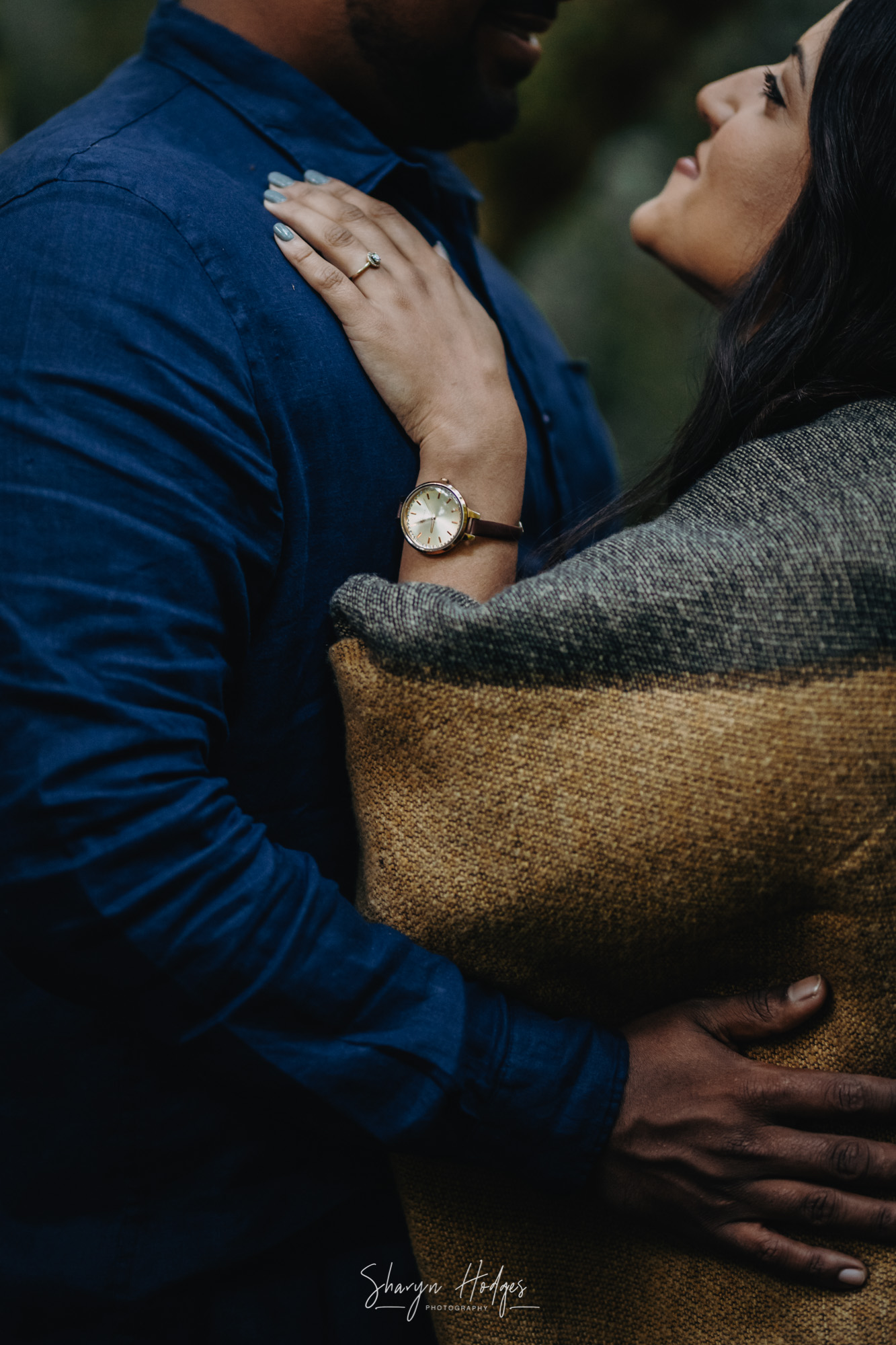 Amy & Blaine's engagement shoot took place in the indigenous fynbos and then forest of Jubilee Creek in Rheenendal just outside of Knysna. Photography by Sharyn Hodges.