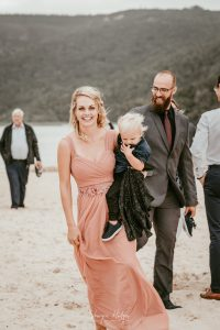 Annie & Reinhardt's wedding took place on the pristine Nature's Valley Beach and the reception at Kay & Monty Vineyards. photographer Sharyn Hodges