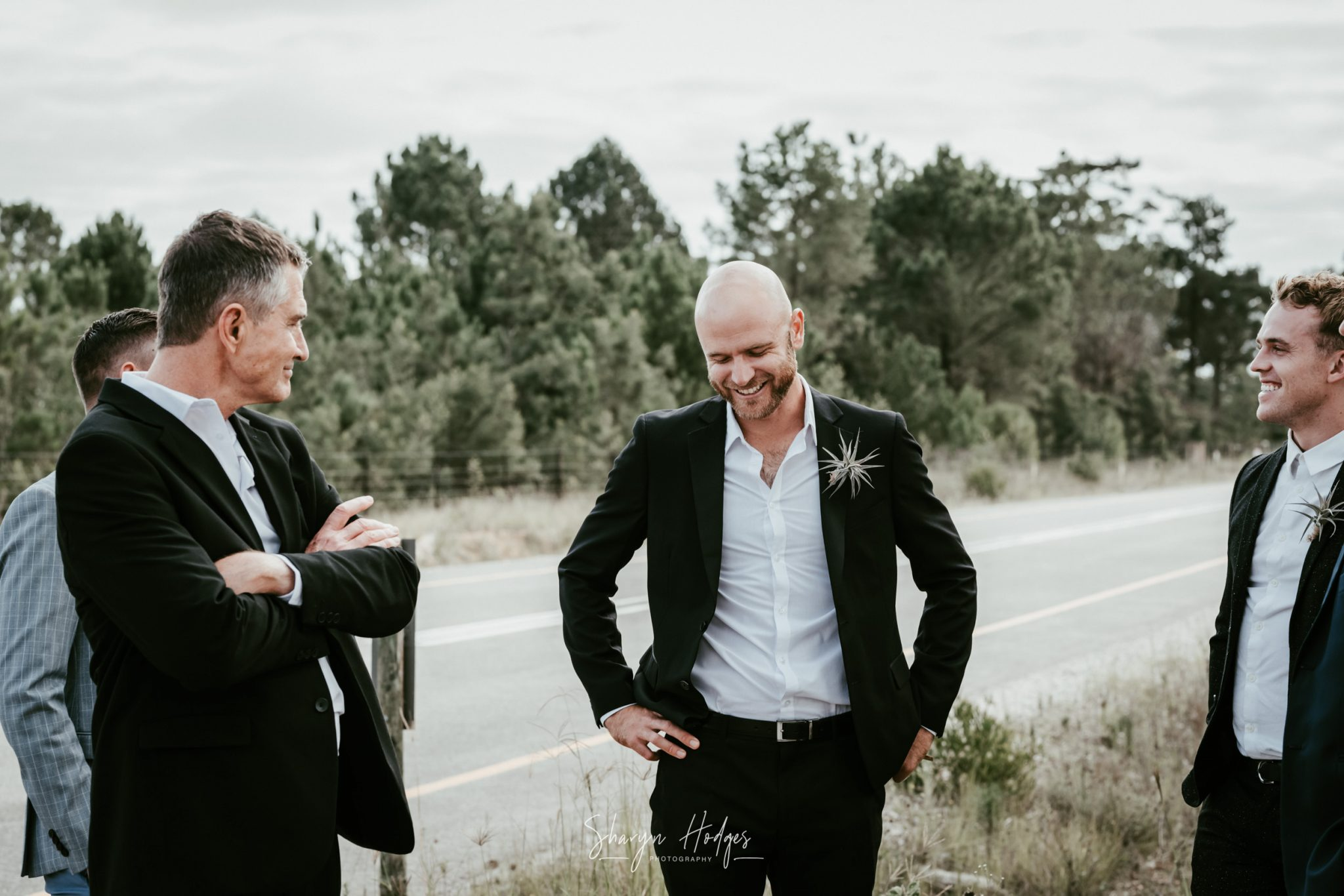The beautiful Claire and Chad married at Dirt Therapy in Plettenberg Bay, Garden Route by Wedding Photographer Sharyn Hodges.